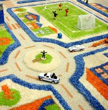 Kid Play Rugs Block Seating Rug With 24 Squares Wayfair Area Rugs Nursery