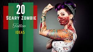 tattoo ideas zombie 20 scary zombie tattoo designs amazing tattoo ideas