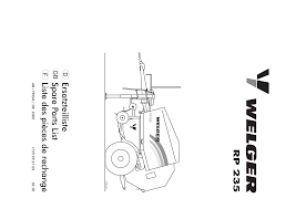 welger rp 235 parts documents