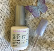 lechat partly cloudy perfect match mood color changing gel polish