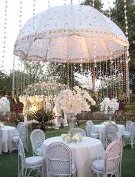 Wedding Centerpieces With Crystals by Create A Rain Shower From Crystals With An Embellished Umbrella
