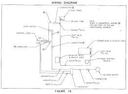 opel manta air conditioning circuit and wiring diagram