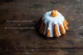 macadamia almond and butternut squash halloween cakes cooking