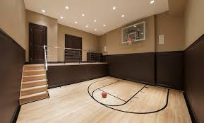 home basketball court design engaging family room decor ideas