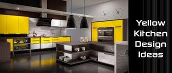 yellow kitchen design yellow kitchen design ideas decoration