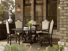 Side Chairs For Dining Room by Dazzling Decorating Ideas Using Round White Wooden Tables And