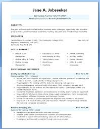 resume templates for medical assistants medical assistant resume template free resume for medical sales
