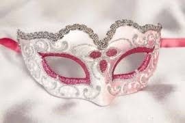 pink masquerade masks womens masquerade masks in cerise fuchsia and shocking pink just