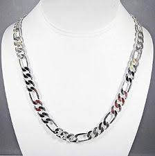 mens chain necklace silver images Men 39 s sterling silver chains necklaces and pendants ebay jpg