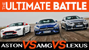 lexus rc coupe actor mercedes amg gt s vs aston n430 vs lexus rc f by youcar u0026 option