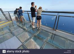madeira cabo girao clifftop viewpoint with glass floored
