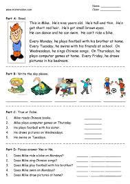 Parts Of Speech Worksheet 264 Free Esl Days Of The Week Worksheets
