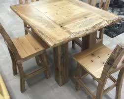 rustic pub table etsy