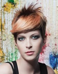 short hairstyles with different color women medium haircut