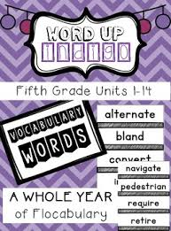 fifth grade flocabulary units 1 14 by teaching and coffee tpt