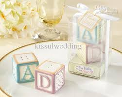Baby Favors by 2018 Baby Shower Favors New Baby On The Block Ceramic Baby Blocks