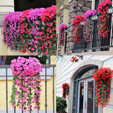 fake flowers for home decor buy artificial flower hanging flowers and get free shipping on