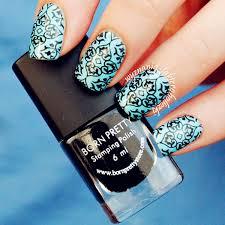 2 99 6ml black nail art stamping polish born pretty nail varnish