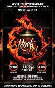10 best images of rock poster templates rock concert flyer