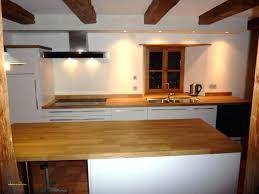 cuisine avec plan de travail en bois plan de travail hetre brico depot avec plan de travail bois massif
