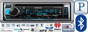 marine kenwood car stereo radio bluetooth cd player dash install