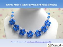 make beads necklace images How to make a simple royal jpg
