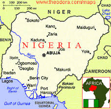 nigeria physical map maps of nigeria flags maps economy geography climate