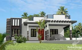 home desings 1044 square 3 bedroom contemporary modern single floor home