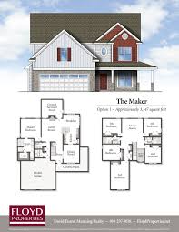 house floor plans ready to build or customizable floyd properties