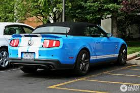 mustang shelby gt500 convertible ford mustang shelby gt500 convertible 2010 11 january 2013