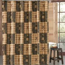 delectably yours browning country shower curtain 72 x 72