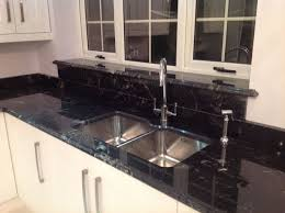 granite countertop cleaning kitchen cabinets wood green glass
