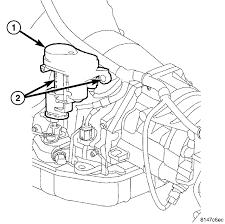 2005 dodge ram transmission throttle valve actuator on a 2005 ram 4x4 with a cummins diesel do i