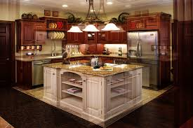 Center Island Kitchen Ideas by Center Island Breakfast Bar Two Tier Kitchen Islands With Seating