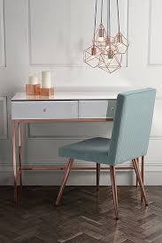 rose gold console table stiletto toughened white glass and rose gold console table my