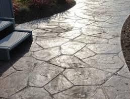 Average Price For Concrete Patio Stamped Concrete Vs Patio Pavers The Concrete Truth