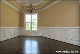 dining room molding ideas dining room wall ideas most popular wall treatments for new homes