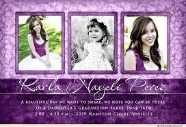 graduation open house invitations orchid damask graduation party invitation feminine design wording