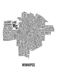Winnipeg Map Latest Version Of The Winnipeg Neighbourhoods Map With Transcona