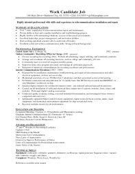 Electrician Job Resume by Electrician Job Resume Free Resume Example And Writing Download