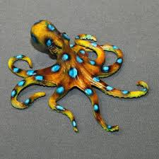 buy a custom bronze octopus figurine statue