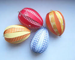 paper easter eggs paper easter eggs easter ornament and paper balls