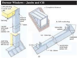 Flashing A Dormer Dormer Windows Jambs And Cill The Lead Sheet Association