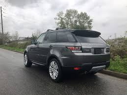 2016 land rover range rover sport td6 hse axis auto