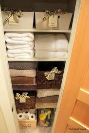 How To Organize A Bathroom Small Linen Closet Organization Small Linen Closets Organizing