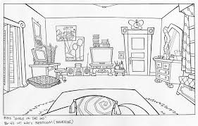 cartoon room background sketches google search animation