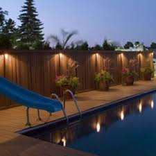 Landscaping Lights Led by Best 25 Fence Lighting Ideas Only On Pinterest Privacy Fence