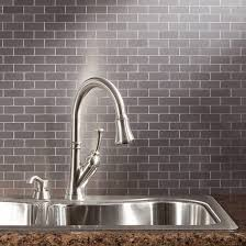 metallic kitchen backsplash kitchen metal backsplash ideas pictures tips from hgtv kitchen