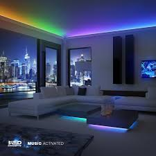 amazon com led concepts strip lights colored led lights for
