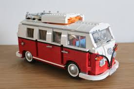 lego volkswagen t1 camper van memories and building a christmas tradition